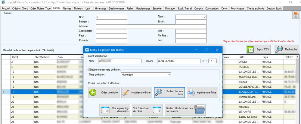 Numérisation des documents client directement dans leur dossier